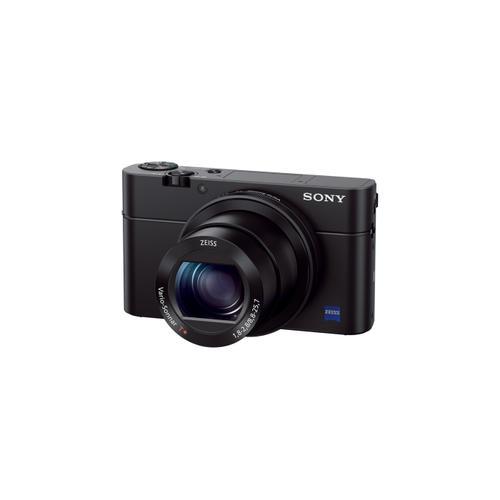 RX100 III Advanced Camera with 1.0 inch sensor Black