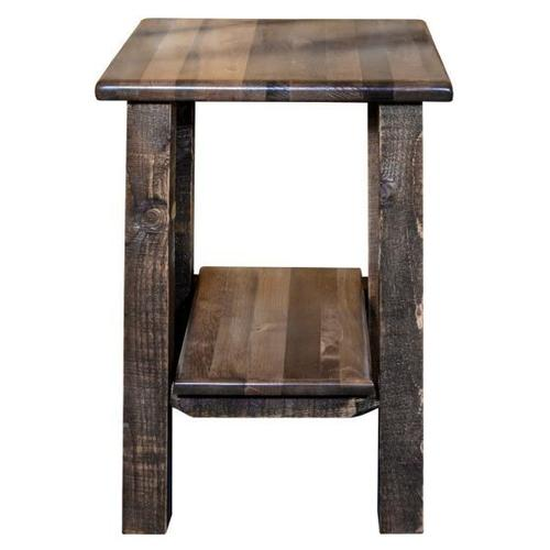 Montana Woodworks - Homestead Collection Nightstand with Shelf, Stain and Lacquer Finish