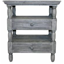 See Details - Charcoal Gray 2 Dwr Cottage End