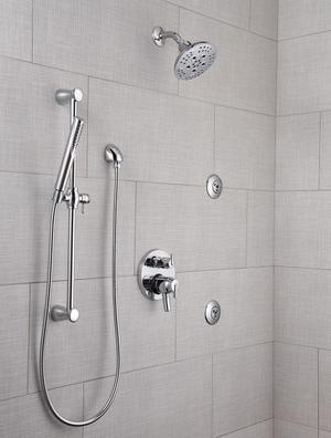 Chrome H 2 Okinetic ® 5-Setting Transitional Raincan Shower Head Product Image