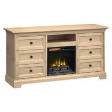 See Details - Howard Miller Fireplace Custom TV Console FP63J