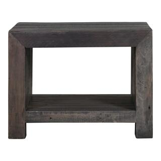 Vintage End Table Grey