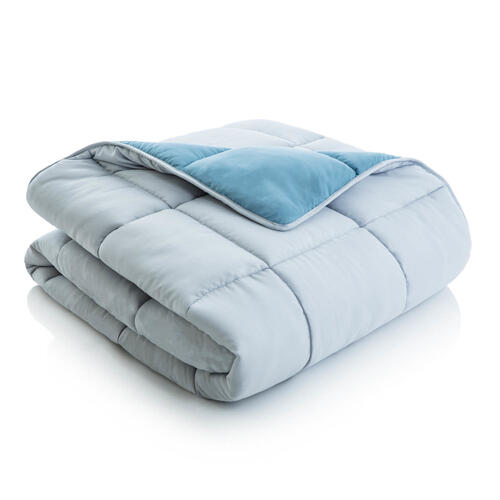 Reversible Bed in a Bag Split Queen White