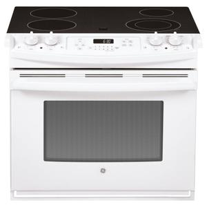 "GE ®30"" Drop-In Electric Range"