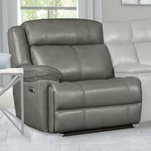 View Product - ECLIPSE - FLORENCE HERON Power Left Arm Facing Recliner