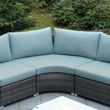 See Details - Morgana Corner Chair