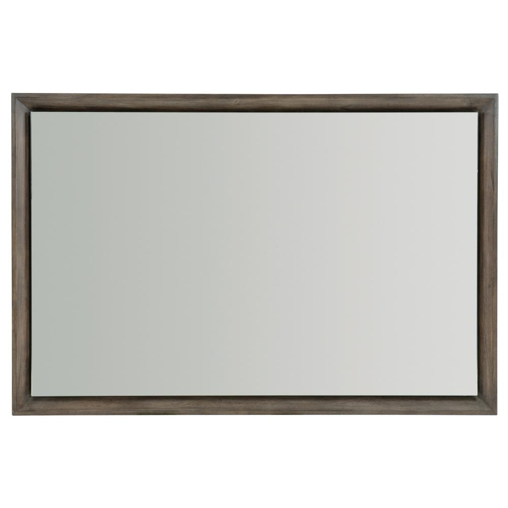 Profile Mirror in Warm Taupe (378)