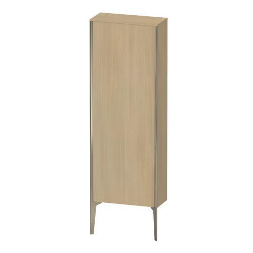 Duravit - Semi-tall Cabinet Floorstanding, Mediterranean Oak (real Wood Veneer)