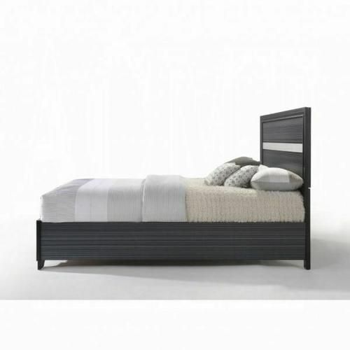 ACME Naima Queen Bed w/Storage - 25900Q - Black