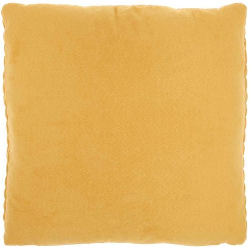 """Life Styles Et299 Yellow 18"""" X 18"""" Throw Pillow"""