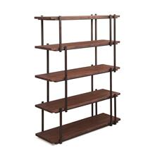 "Valencia 44"" Wide Bookshelf Tawny Brown"