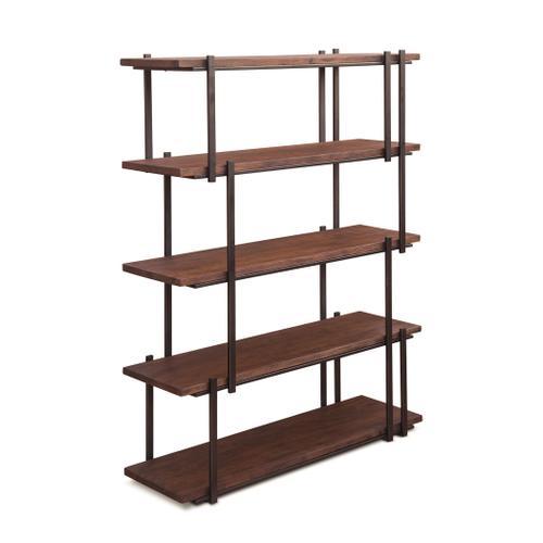 "Valencia 44"" Wide Bookshelf Tawny Brown"