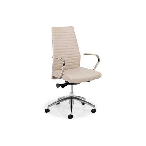 5883ST-UPH BLADE CHANNELLED SW TILT CHAIR W/UPH ARM CAPS