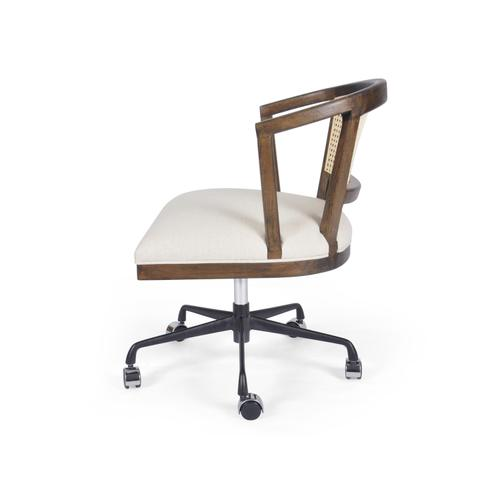 Vintage Sienna Finish Alexa Desk Chair