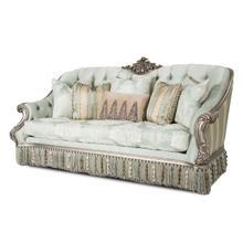 Vivienne Wood Trim Sofa Platinum