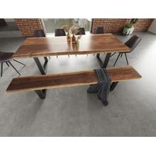 View Product - Modrest Taylor - X-Large Modern Live Edge Dining Bench