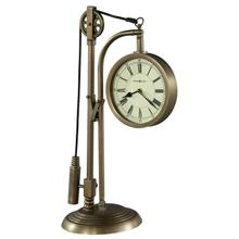 635-210 Pulley Time Mantel Clock