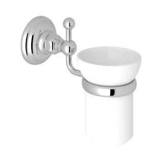 Polished Chrome Italian Bath Wall Mount Tumbler Holder Product Image