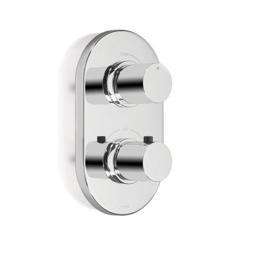 Nexus® Thermostatic Mixing Valve Trim with Single Volume Control - Brushed Nickel
