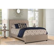 Napleton King Bed - Natural Herringbone