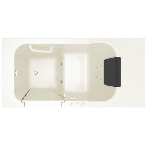 Gelcoat Premium Series 28x48-inch Walk-in Tub  Combo Massage  American Standard - Linen