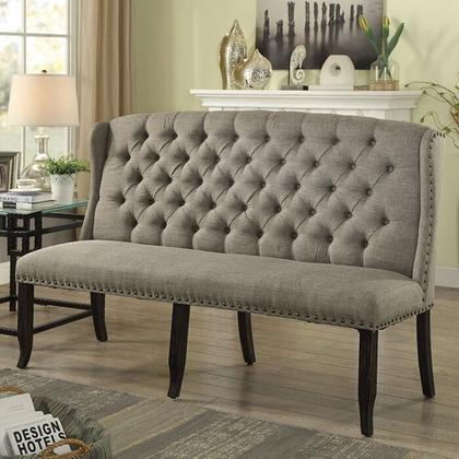 See Details - Sania 3-seater Love Seat Bench