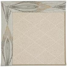 Creative Concepts-White Wicker Empress Grain Machine Tufted Rugs