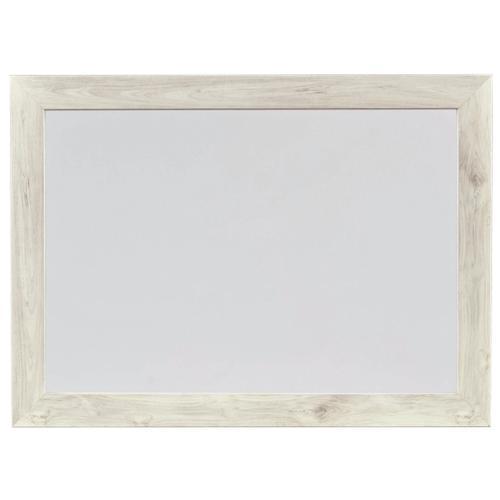Cambeck Bedroom Mirror Whitewash