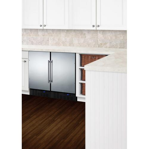 "18"" Wide Built-in All-refrigerator, ADA Compliant"