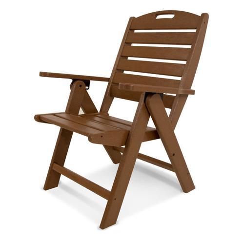 Teak Nautical Highback Chair