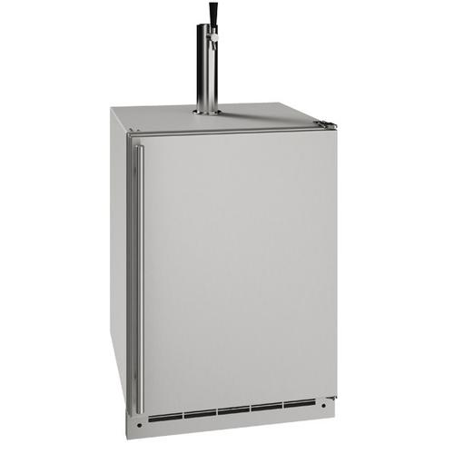 """Gallery - 24"""" Keg Refrgierator With Stainless Solid Finish (115 V/60 Hz Volts /60 Hz Hz)"""