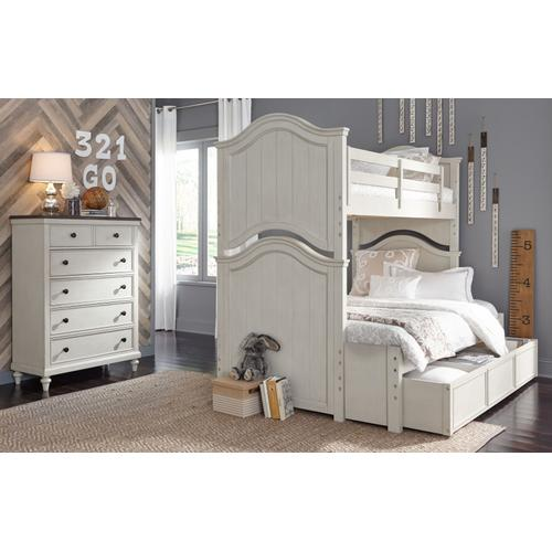 Legacy Classic Kids - Brookhaven Youth Twin over Full Bunk Bed