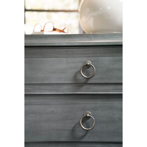 Bedroom Hamilton Three-Drawer Nightstand