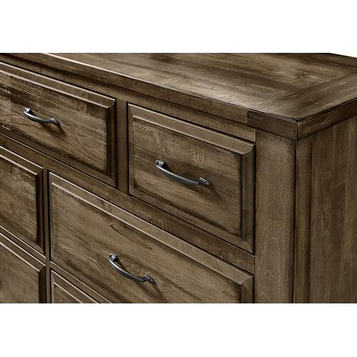 Triple Dresser - 7 Drawers