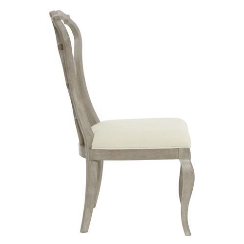 Bernhardt - Marquesa Side Chair in Gray Cashmere (359)