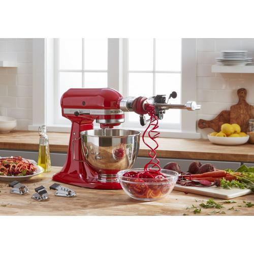 Ultra Power® Plus Series 4.5-Quart Tilt-Head Stand Mixer Empire Red