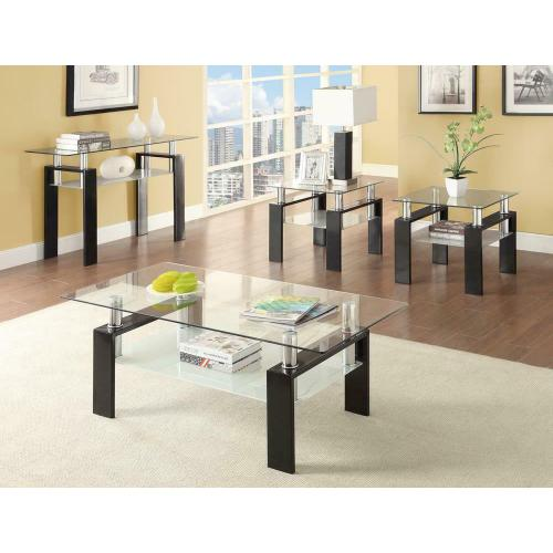 Occasional Contemporary Black Sofa Table