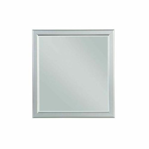 ACME Louis Philippe III Mirror - 26704 - Platinum