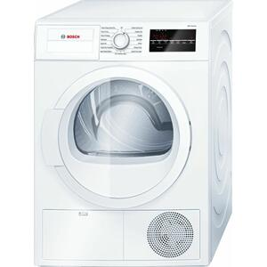 300 Series Cond. Dryer - 208/240V, Cap. 4.0 cu.ft., 15 Cyc.,67 dBA Galv.Drum, White/Door Non-Rev. Product Image