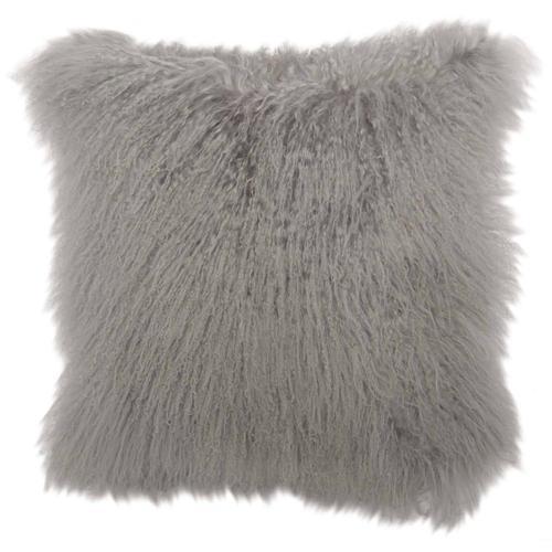 "Luxe Pillows Mongolian Lamb (20"" x 20"")"