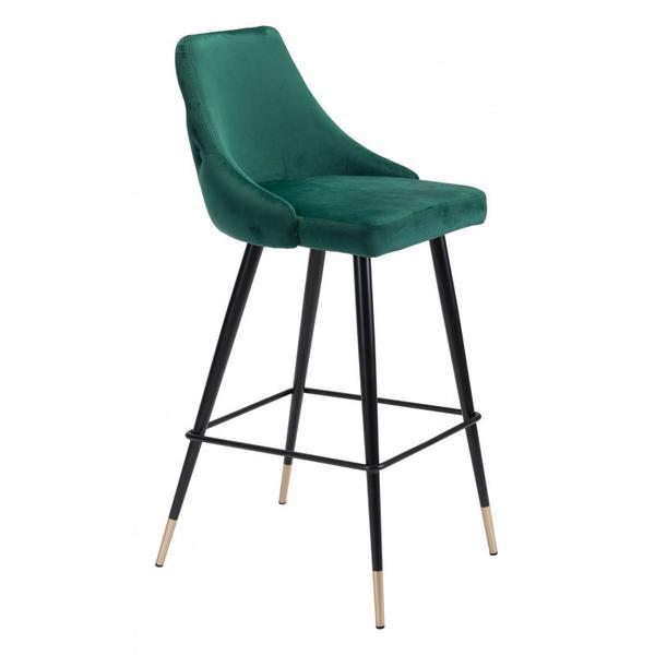 Piccolo Bar Chair Green