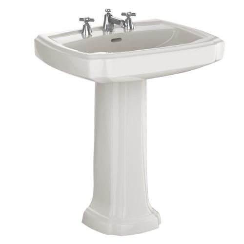 """Guinevere® 27"""" Pedestal Lavatory - Colonial White"""