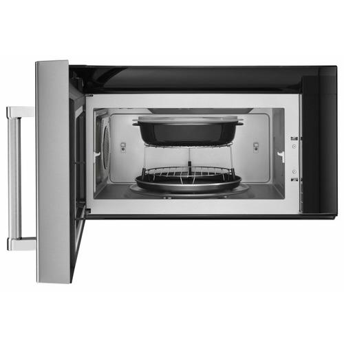 """Gallery - 30"""" 1200-Watt Microwave Hood Combination with Convection Cooking - Stainless Steel"""