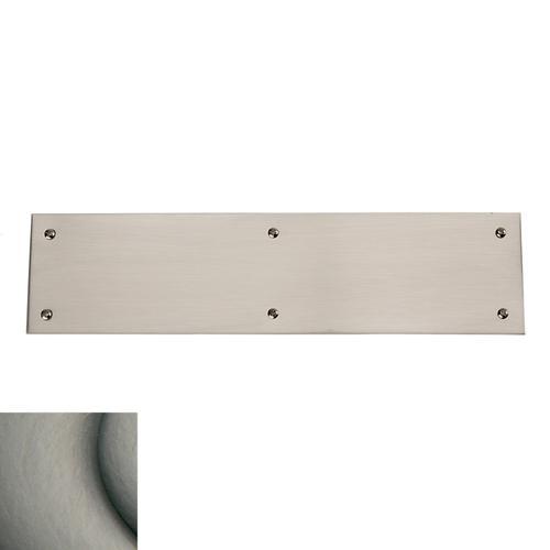 Baldwin - Antique Nickel Square Edge Push Plate