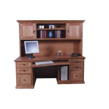 See Details - Forest Designs Mission Hutch for 1055: 74w x 42H x 13D (No Desk)