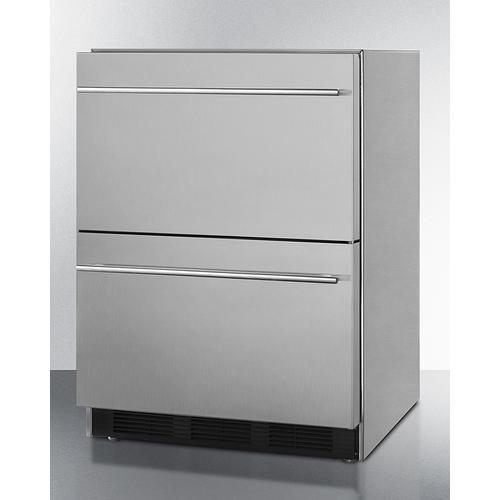 "24"" Wide 2-drawer All-refrigerator, ADA Compliant"