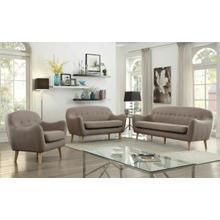 ACME Jillian Sofa - 53700 - Light Brown Linen