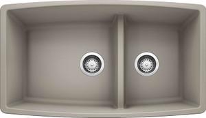 Performa 1-3/4 Medium Bowl - Concrete Gray Product Image