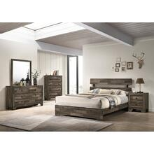 CrownMark 4 Pc Queen Bedroom Set, Atticus B6980