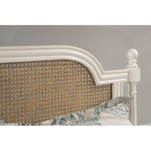 Melanie Queen Wood Headboard Without Frame, White
